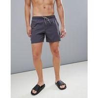 dave swim shorts 16 inch in black - black marki Protest