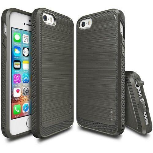 ringke onyx gray | obudowa + folia ochronna dla modelu apple iphone 5 / 5s / se marki Rearth