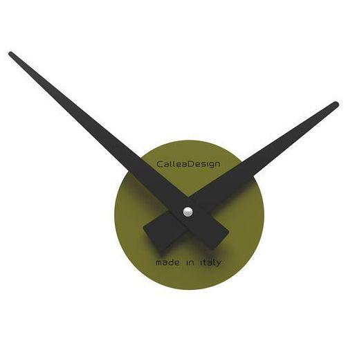 Zegar ścienny Botticelli mały CalleaDesign oliwkowo-zielony (10-311-54), kolor zielony
