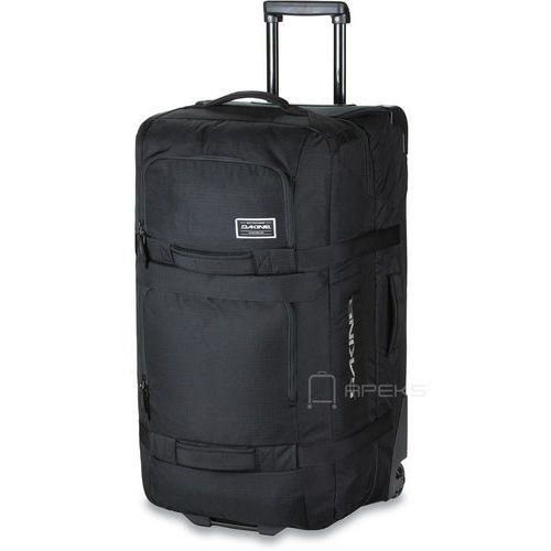 Dakine split roller 85l torba podróżna na kółkach 76 cm / czarna - czarny