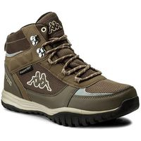 Trekkingi KAPPA - Mountain Tex 242369 Brown/Beige 5041, kolor brązowy