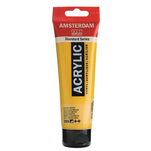 Talens amsterdam acryl farba 269 azo yellmd 120ml (8712079268015)
