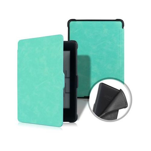 Alogy Etui tpu smart case kindle paperwhite 1/2/3 turkusowe - turkusowy