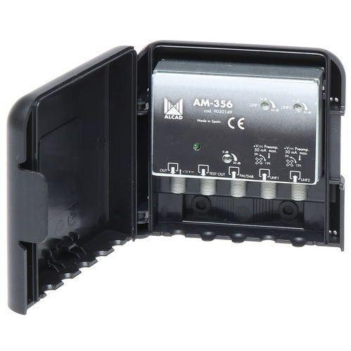 WZMACNIACZ ANTENOWY AM-356 DVB-T FM/DAB, AM-356