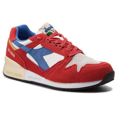 Sneakersy - i.c. 4000 premium 501.170945 01 c6577 pompeian red/nautical bl/vanil, Diadora, 41-47