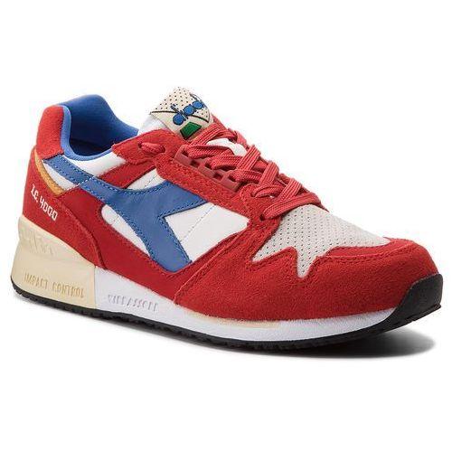 Sneakersy - i.c. 4000 premium 501.170945 01 c6577 pompeian red/nautical bl/vanil marki Diadora