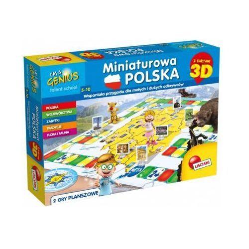 Lisciani Gra im a genius - miniaturowa polska 3d (8008324069323)