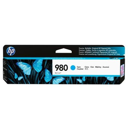 HP oryginalny ink D8J07A, No.980, cyan, HP HP OfficeJet Enterprise X585, X555, IHPD8J07AXCG (6283870)