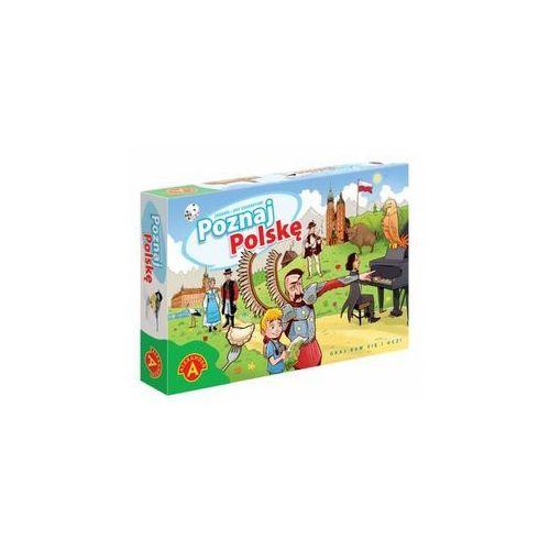 Poznaj Polskę - gra planszowa - Alexander (5906018017786)