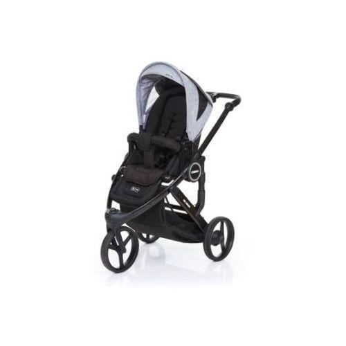Abc design  wózek dziecięcy cobra plus black-graphite grey, stelaż black / siedzisko black (4045875037757)