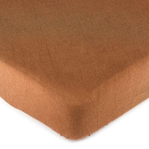 4Home prześcieradło jersey, brązowe, 140 x 200 cm, 229369