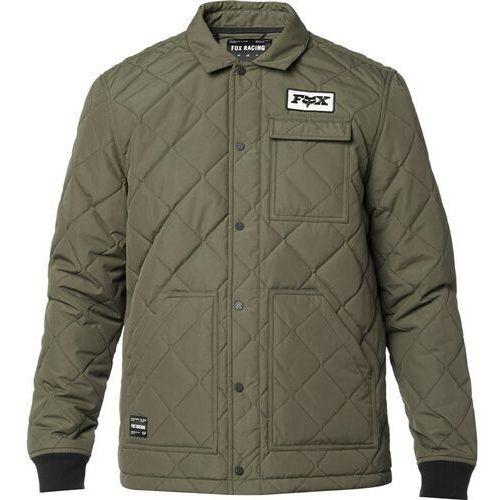 kurtka FOX - Speedway Jacket Olive Green (099) rozmiar: L, kolor zielony