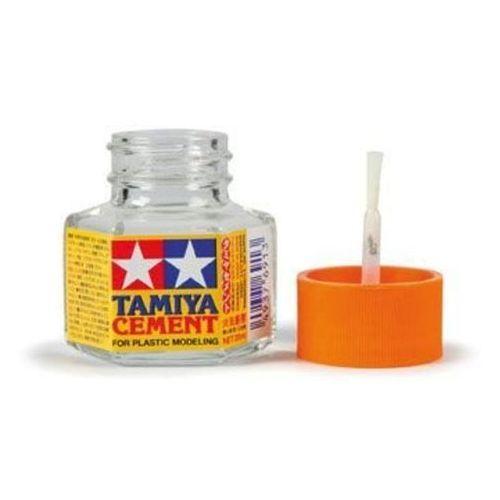 Tamiya Klej z pędzelkiem ( cement) / 20ml tamiya 87012 (4950344870127)
