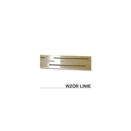 Odwodnienie liniowe 60 ruszt ozdobny - linie XMD030, XMD030