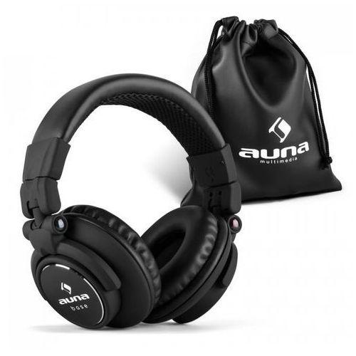 Auna Base słuchawki DJ 15Hz-22kHz zamknięte składane