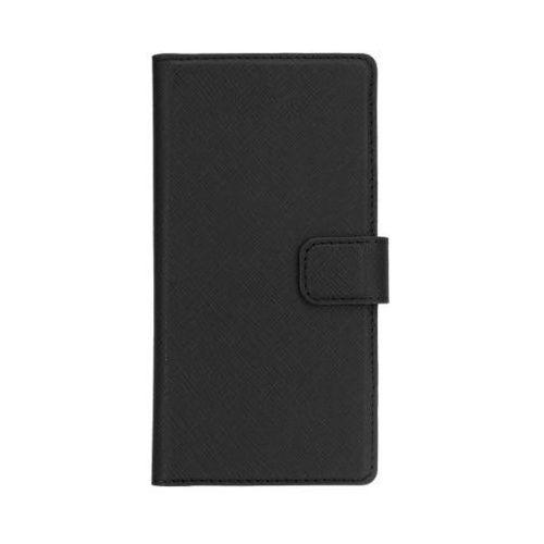 Etui XQISIT Wallet case Viskan do Huawei P9 Plus Czarny - produkt z kategorii- Futerały i pokrowce do telefonów