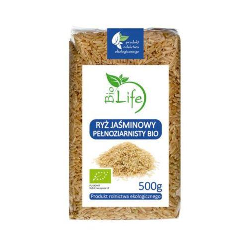 BIOLIFE 500g Ryż jaśminowy Pełnoziarnisty Bio