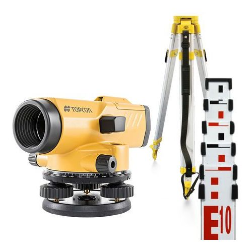 Niwelator optyczny Topcon AT-B4 + statyw + łata