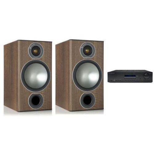 Zestawy Cambridge audio sr10v2 + monitor audio bronze 2