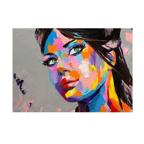 Kanwa ARTCANVAS COLORFUL WOMAN 100 x 70 cm (5901698549015)