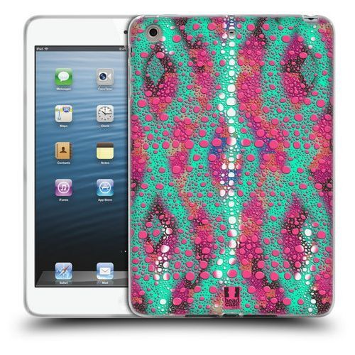 Head case Etui silikonowe na tablet - chameleon skin patterns mint and pink