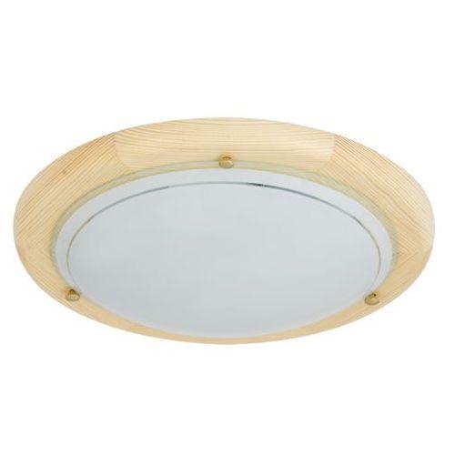 Plafon lampa sufitowa / ścienna Rabalux Ufo 1x60W E27 buk 5411, 5411