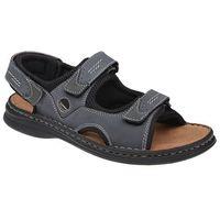 Sandały buty JOSEF SEIBEL 10236 Franklyn Granatowe - Granatowy ||Czarny ||Brązowy (4051958416951)