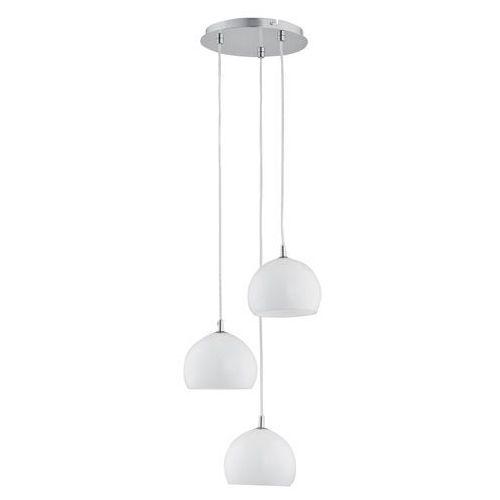 Lampa wisząca zwis Alfa Waterfall White 3x40W E14 chrom/biała 21003. >>> RABATUJEMY do 20% KAŻDE zamówienie!!!, 21003.