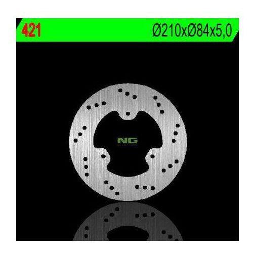 Ng 421 tarcza hamulcowa yamaha szr 660 '95-'01, fzr 400 '87-'92 (210x84x5) (3x8,5mm)