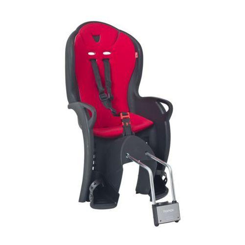 kiss fotelik dziecięcy czerwony/czarny czarne/czerwone 2018 mocowania fotelików marki Hamax