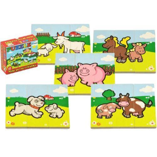 Teddies  puzzle - moje pierwsze zwierzątka