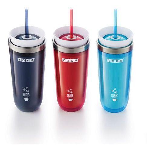 Kubek termiczny Iced Coffe Maker - Zoku (Kolor:: Czerwony)