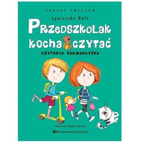 Przedszkolak kocha czytać Czytanie sekwencyjne z.ćwiczeń, Edukacyjne