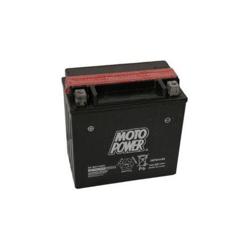 Akumulator motocyklowy moto power cbtx14-bs ytx14-bs 12v 12ah 200a en l+ marki Yuasa