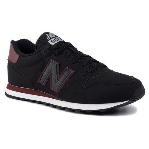 Sneakersy NEW BALANCE - GM500TRK Czarny, 1 rozmiar