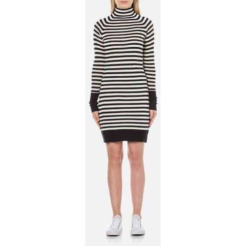 Cheap Monday Women's Hope Stripe Jumper Dress - White - L/UK 12 z kategorii Pozostałe