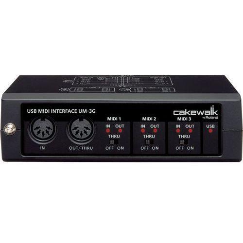 """Roland Cakewalk um-3g - interface midi 3in, 3out -5% na pierwsze zakupy z kodem """"start""""!"""