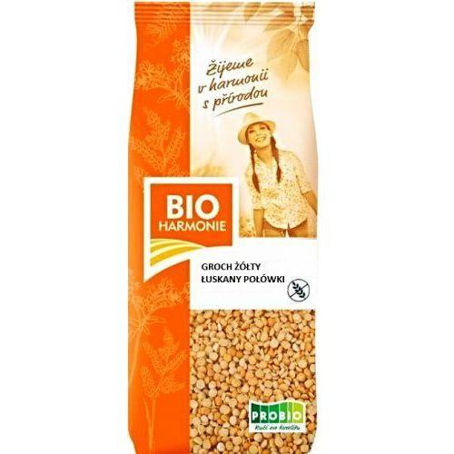 Bio harmonie Groch żółty łuskany połówki bio 500g
