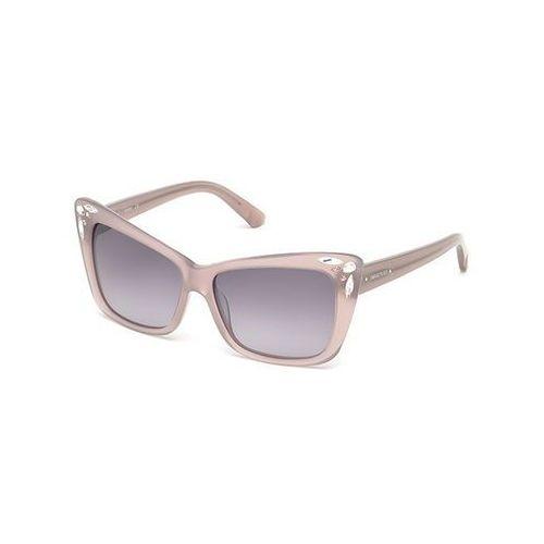 Okulary słoneczne sk 0103 78b marki Swarovski