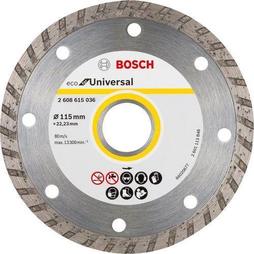 Bosch_elektonarzedzia Tarcza diamentowa bosch eco turbo 115 x 22.23 10 szt. (2608615045) + darmowy transport! (3165140857222)