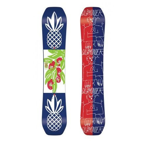 Potestowa deska snowboard salomonder jed anderson 154cm marki Salomon