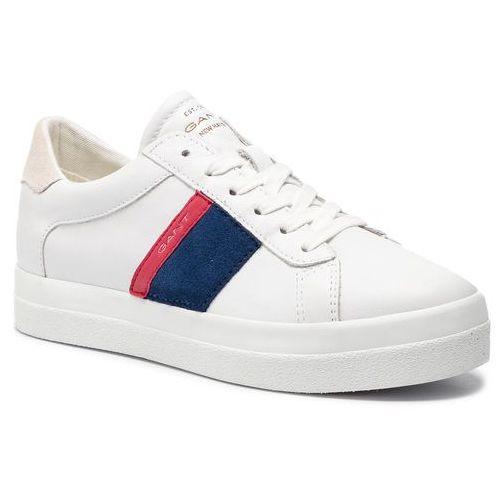 Sneakersy - aurora 18531704 br.wht/ind.blue/red g282, Gant, 36-42