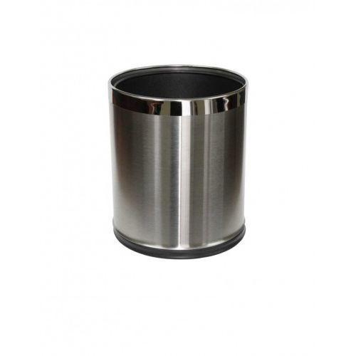 Stella pojemnik na śmieci 9 L, zdejmowana obudowa ze stali nierdzewnej szczotkowanej 20.100, 20.100