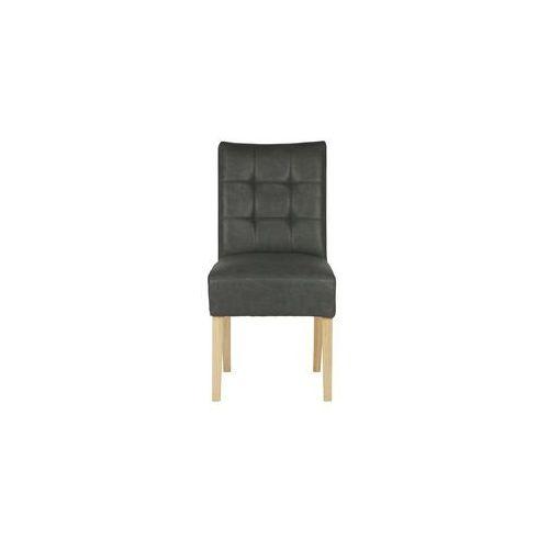 Woood krzesło stołowe tijmen ciemnoszare 340942-01