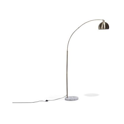 Beliani Lampa stojąca mosiężna 210 cm paroo (4260586357875)