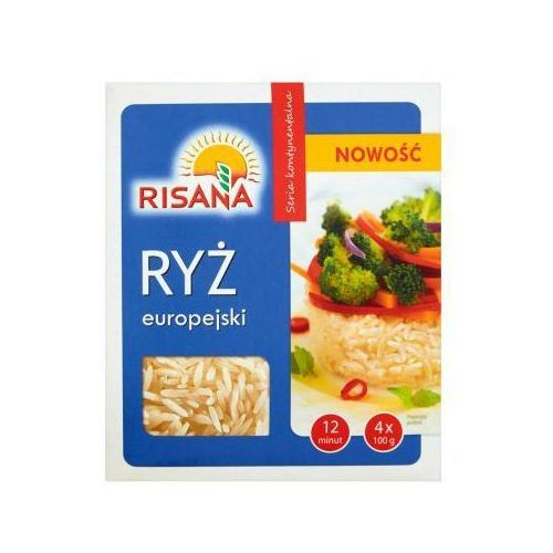 Ryż europejski Risana 4x100 g
