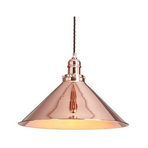 Błyszcząca lampa wisząca provence, industrialna marki Elstead