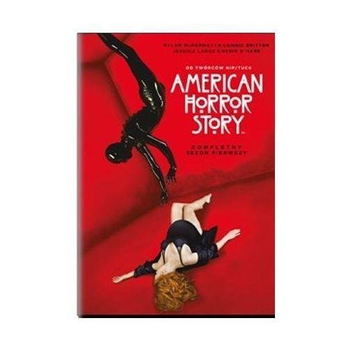 Imperial cinepix American horror story - sezon 1 (3xdvd) - ryan murphy darmowa dostawa kiosk ruchu