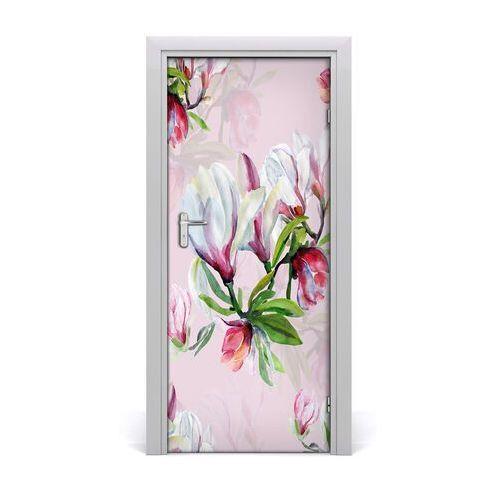 Okleina samoprzylepna fototapety na drzwi Magnolia