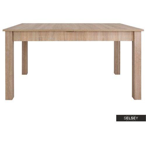 SELSEY Stół rozkładany Eagor 140-190x84 cm dąb sonoma (5903025385730)